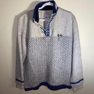 RARE VNTG Scandinavian Score Design Sweater Wool